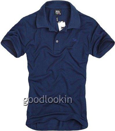 GRANATOWA  KOSZULKA POLO JEEL Jeans (312674)