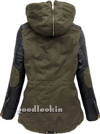 PARKA ZIMOWA GO-START ARMY (CK639)